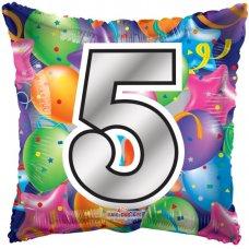 Number 5 Square (15063-18) Square P1