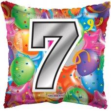 Number 7 Square (15065-18) Square P1