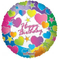 Birthday Hearts (19284-18) Round P1