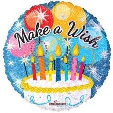 Make a Wish Cake (19538-18) Round H P1