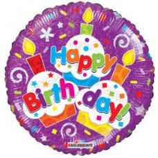 Birthday Cupcakes (19540-18) Round H P1