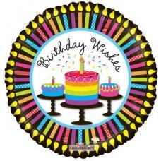 Birthday Cupcakes & Candles (19477-18) Round P1