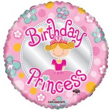Birthday Princess (19455-18) Round P1