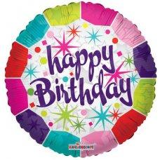 Happy Birthday Fresh (19175-18) Round H P1