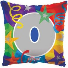 SPECIAL! Party Number 0 (17980-18) Square P1