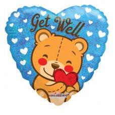 Get Well Bear (19723-18) Round HP1