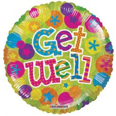 Get Well Dots (19542-18) Round H P1