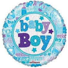 Baby Boy Holo. (19544-18) 18