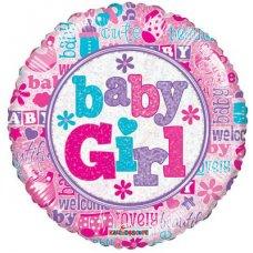 Baby Girl Holo. (19545-18) 18