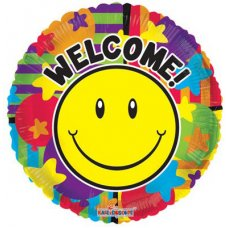Smiley Welcome (19693-18) Round P1