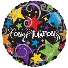 Congratulations Black (15027-18) Round P1