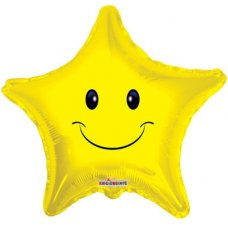 Smiley Face Star Star P1
