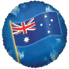 Australian Flag (670001-18) Round P1