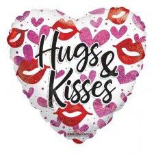 Hugs & Kisses Holographic (15994-18) 18