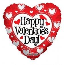 Happy Valentines Day Many Hearts (81223-18) 18
