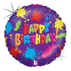 SPECIAL! Paint Splatter Birthday 36