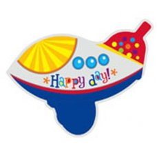 SPECIAL! Happy Birthday Airplane 3D 24