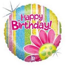 SPECIAL! Happy Birthday Citrus Garden (86476P) Round H P1