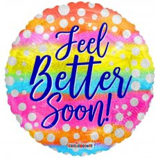 Feel Better Soon Dots Holo. (15495-18) 18