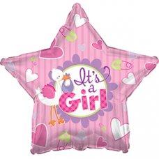 It's A Girl Stork Star (814164HP) 18
