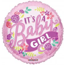It's a Girl Banner GB (15472-18) 18