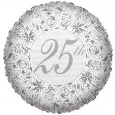 25th Anniversary Silver (17387-18) 18