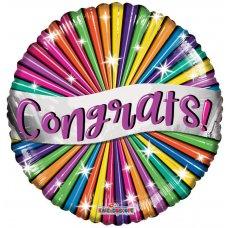 Congrats Banner & Stars (15839-18) 18