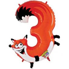 SPECIAL! Zooloon Mighty Bright - Fox #3 14943MP Shaped P1