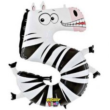 SPECIAL! Zooloon Mighty Bright - Zebra #5 14945MP Shaped P1