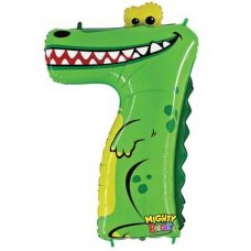 SPECIAL! Zooloon Mighty Bright Croc #7 14947MP Shaped P1