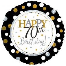Happy 70th Birthday (117806HP) Round P1