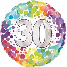 Colourful Confetti 30 (Oaktree 226959) Round P1