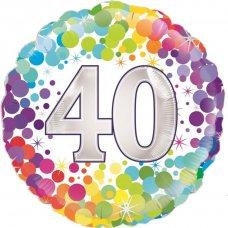 Colourful Confetti 40 (Oaktree 226966) Round P1