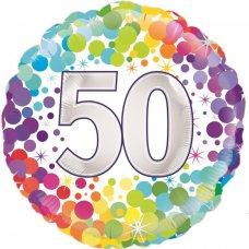 Colourful Confetti 50 (Oaktree 226973) Round P1