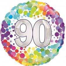Colourful Confetti 90 (Oaktree 227031) Round P1