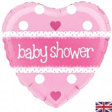 Baby Shower Pink Heart (Oaktree 228182) Heart P1