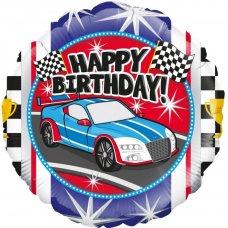 Happy Birthday Sports Car (Oaktree 228342) Round P1