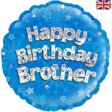 Happy Birthday Brother Blue (Oaktree 229103) Round P1