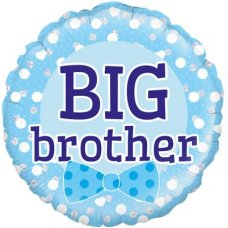 Big Brother Blue Bowtie (Oaktree 229479) Round P1