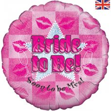 Bride to Be Pink Kisses (Oaktree 228694) Round P1