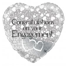 Engagement Entwined Hearts (Oaktree 229226) Heart P1
