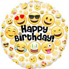 Emoji Happy Birthday (Oaktree 229417) Round P1