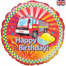 Fire Engine Birthday (Oaktree 228366) Round P1