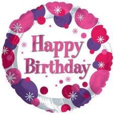 Happy Birthday Girl (117810HP) Round P1
