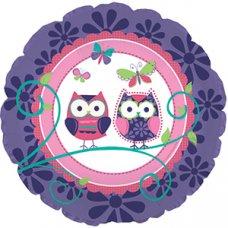 Owl Pal Birthday (317524HP) Round P1