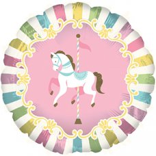 Carousel Horse (317356HP) Round P1