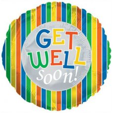 Get Well Soon Boy (117807HP) Round P1