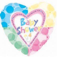 Baby Shower Quadrants (214378) Heart P1