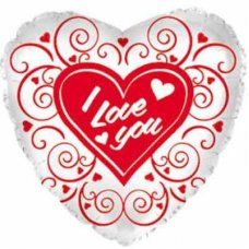I Love You Swirls (214585) Heart P1