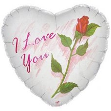 SPECIAL ! I Love You Rose (214168) Heart P1